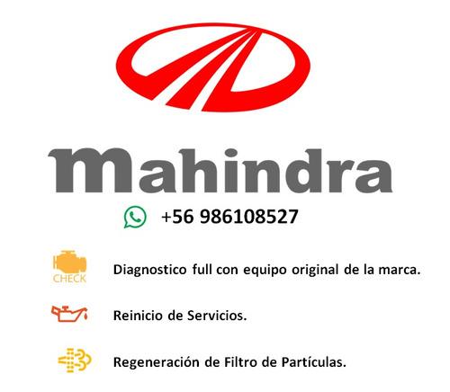 regeneración de dpf mahindra a domicilio