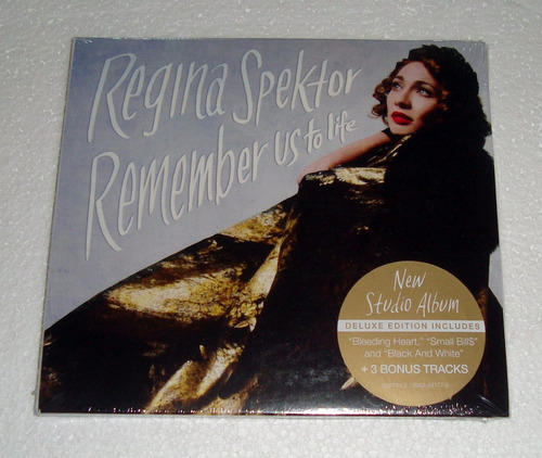 regina spektor remember us life deluxe edition cd sellado