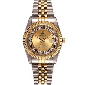 Corona Relojes Lujo Reginald Delgado Acero R Correa Femenino fYby76g