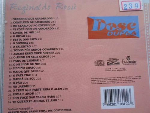 reginaldo rossi dose dupla em cd jovem guarda festa dos pães