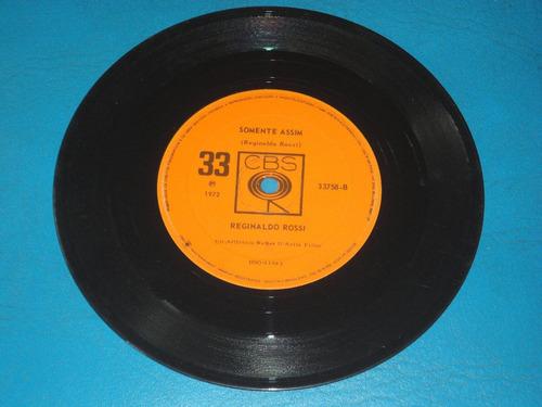reginaldo rossi - lp compacto - 1972