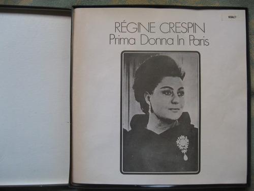 regine crespin - prima donna de paris (london 10386/7)