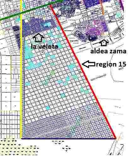 region 15 mza 213 lotes