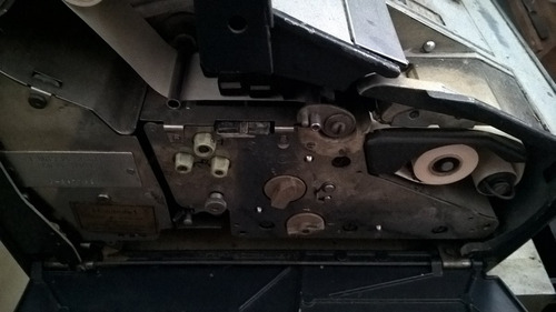 registradora antigua ncr original.  funcionando