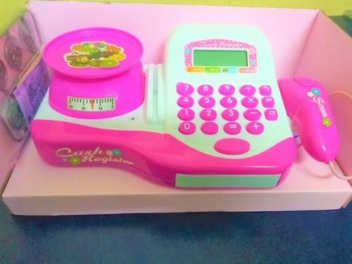 registradora juguete caja