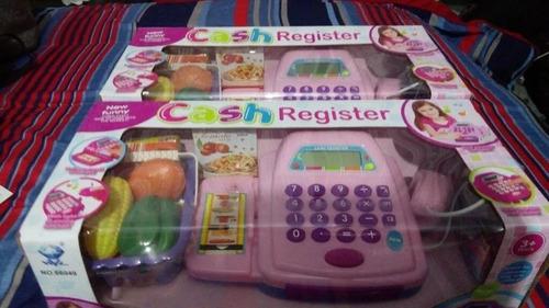 registradora juguete, caja