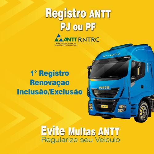 registro antt valido para todo o brasil