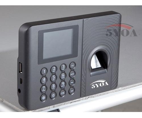 registro de asistencia biometrico 5yoa