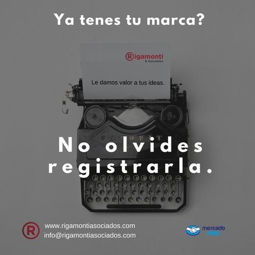 registro de marcas y patentes. inpi