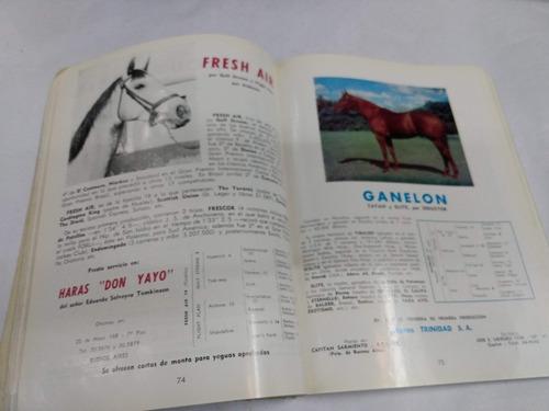 registro de padrillos 1971 - criadores arg. sangre pura