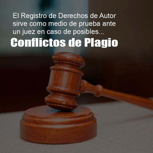 registro de propiedad intelectual o derechos de autor naranj