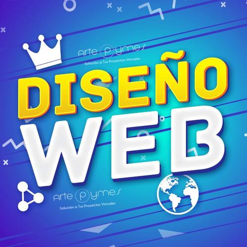 registro dominios diseño página web hosting ilimitado gratis