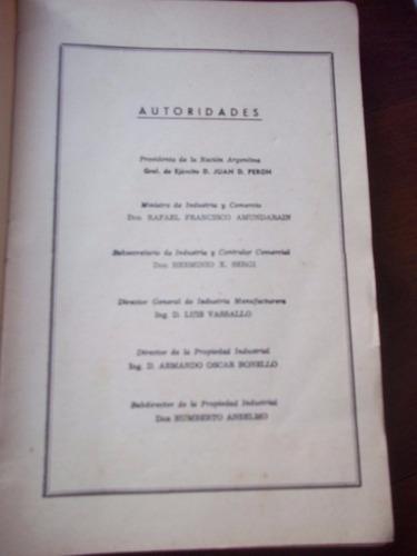 registro patentes invencion 1952 peronismo en la plata