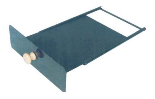 registro regulador fumaça fogão a lenha 34x24x10cm