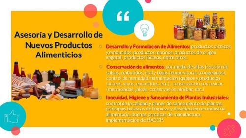 registro sanitario alimentos detergentes formulación sunagro