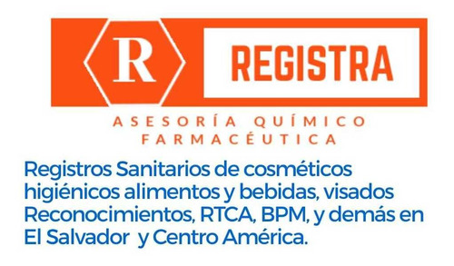 registro sanitario de cosméticos en él salvador