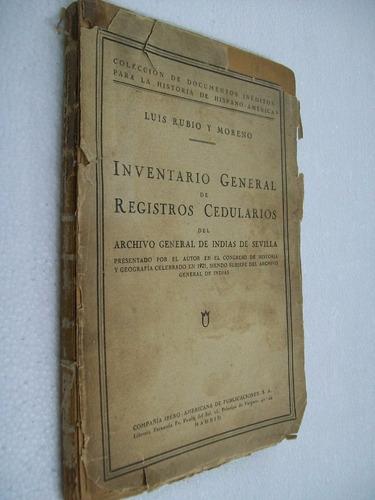 registros cedularios archivo general de indias de sevilla