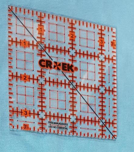 regla 3 1/2 x 3 1/2 para patchwork en maquineria beiro