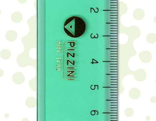 regla 60cm estudio verde pizzini 173260