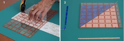 regla 9 1/2 x 9 1/2 para patchwork en maquineria beiro