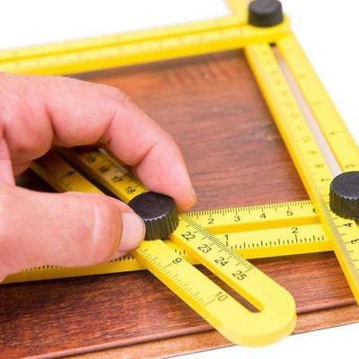 regla corta azulejo ladrillo piso madera multiángulo exacto