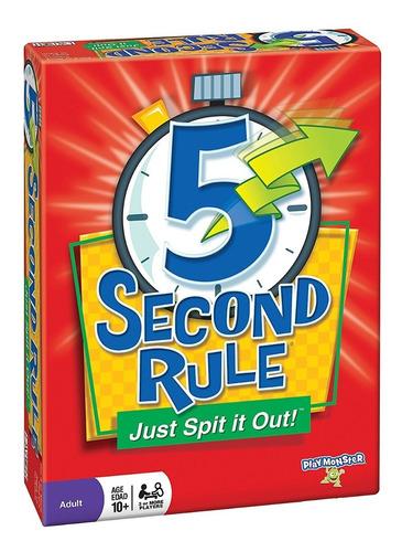 regla de 5 segundos, juego de mesa!!!