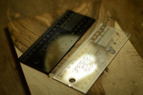regla de alturas de luthier