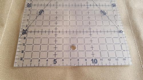 regla gobernante 15 cm x 30 cm