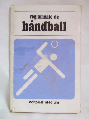 reglamento de handball ed. stadium