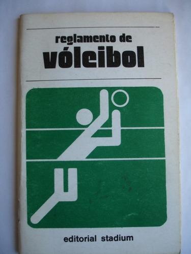 reglamento de vóleibol - edt. stadium