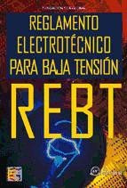 reglamento electrotécnico para baja tensión (rebt)(libro  in