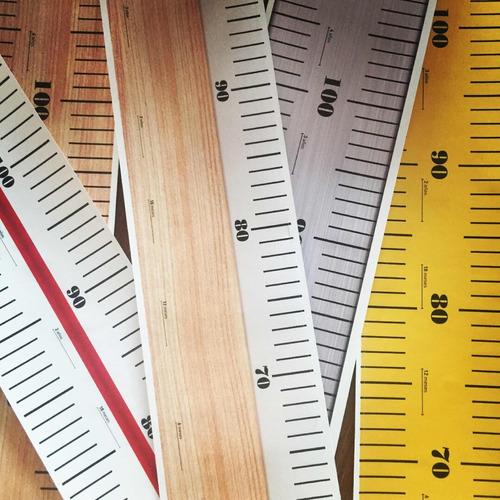 reglas medidoras para niños en vinilo