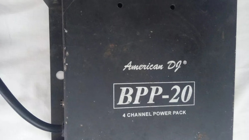 regleta 8 canales american dj bpp - 20 leer antes de ofertar