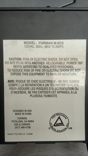 regleta marca furman m-8dx usada