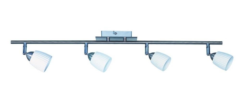Regleta para techo serie spot cer mico satinado 4 - Iluminacion de techo ...