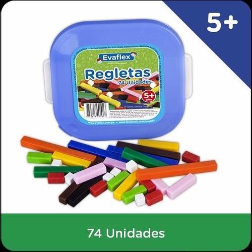 regletas de cuisenaire x 27 piezas