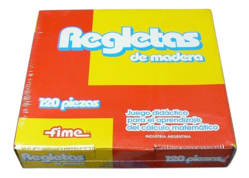 regletas de madera fime 240 piezas nuevas oferta caja cerrad