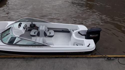regnicoli marea open con suzuky  140 hp  2020 con 6 hs =okm