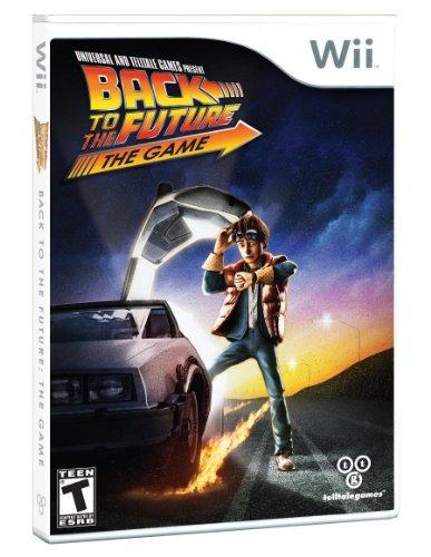 regreso al futuro: el juego - nintendo wii