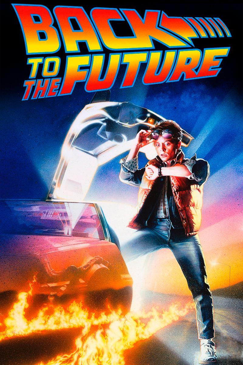 regreso al futuro poster 30x46cm back to the future