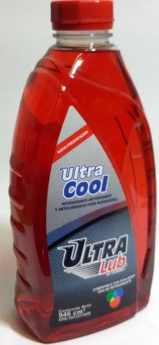 regrigerante rojo ultralub 1 litro...