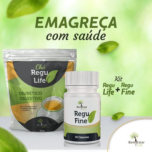regu fine + chá regu life