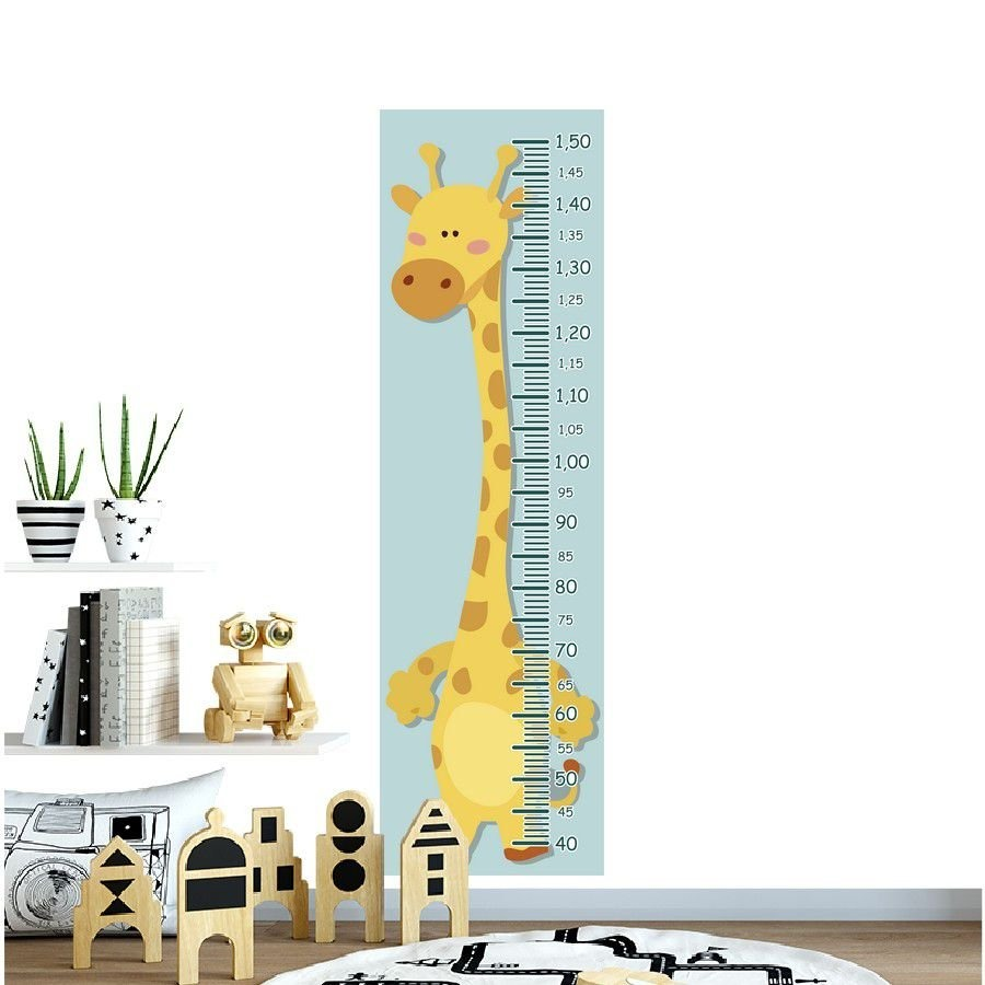 5bfff7d56 régua crescimento adesivo girafa amarela bolinhas laranja. Carregando zoom.