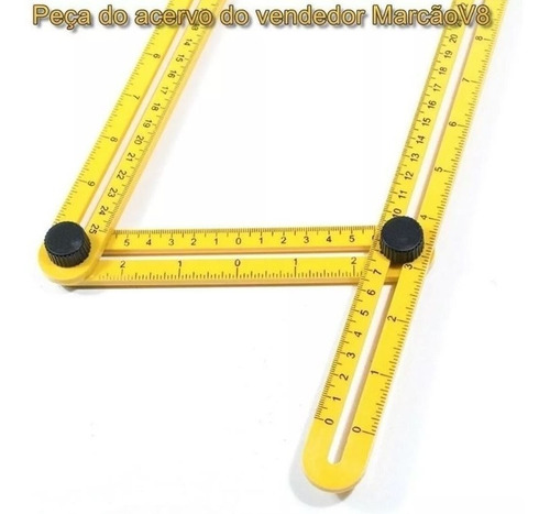 régua, medidora ajustável, multi ângulos, angular, esquadro