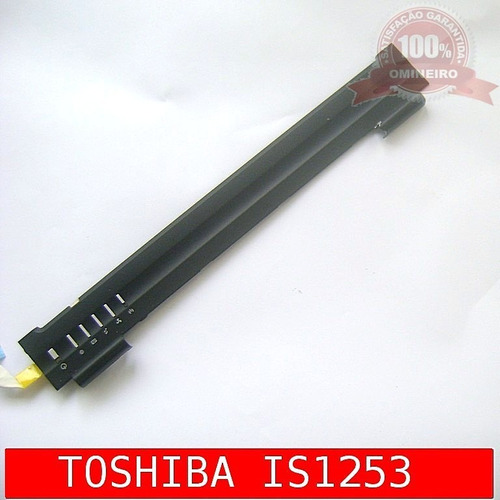 régua painel do teclado notebook sti toshiba is1253
