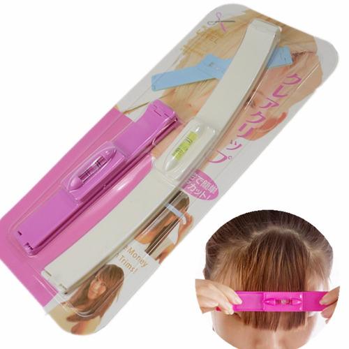 régua para corte de cabelo e franja  corte mágico
