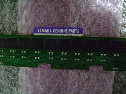regua teclado yamaha psr620 psr520 psr530  menor 27 contatos