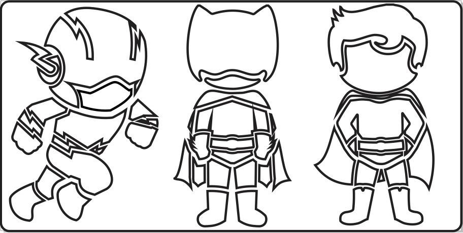 Desenhos Para Colorir De Super Herois Para Imprimir
