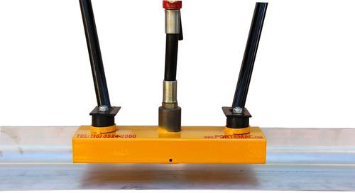 régua vibratória para concreto motor honda 1,6hp 2 metros