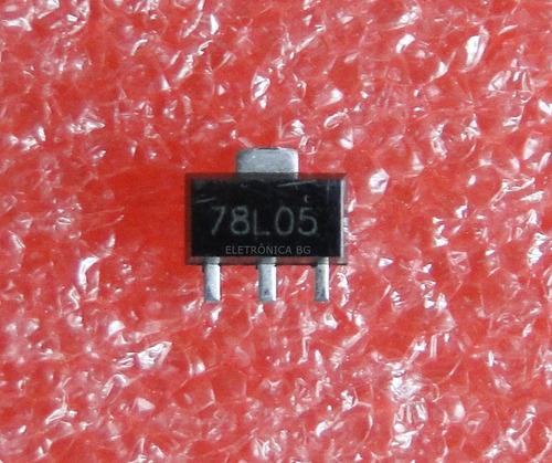 regulador 5v 78l05 smd | kit com 20 peças